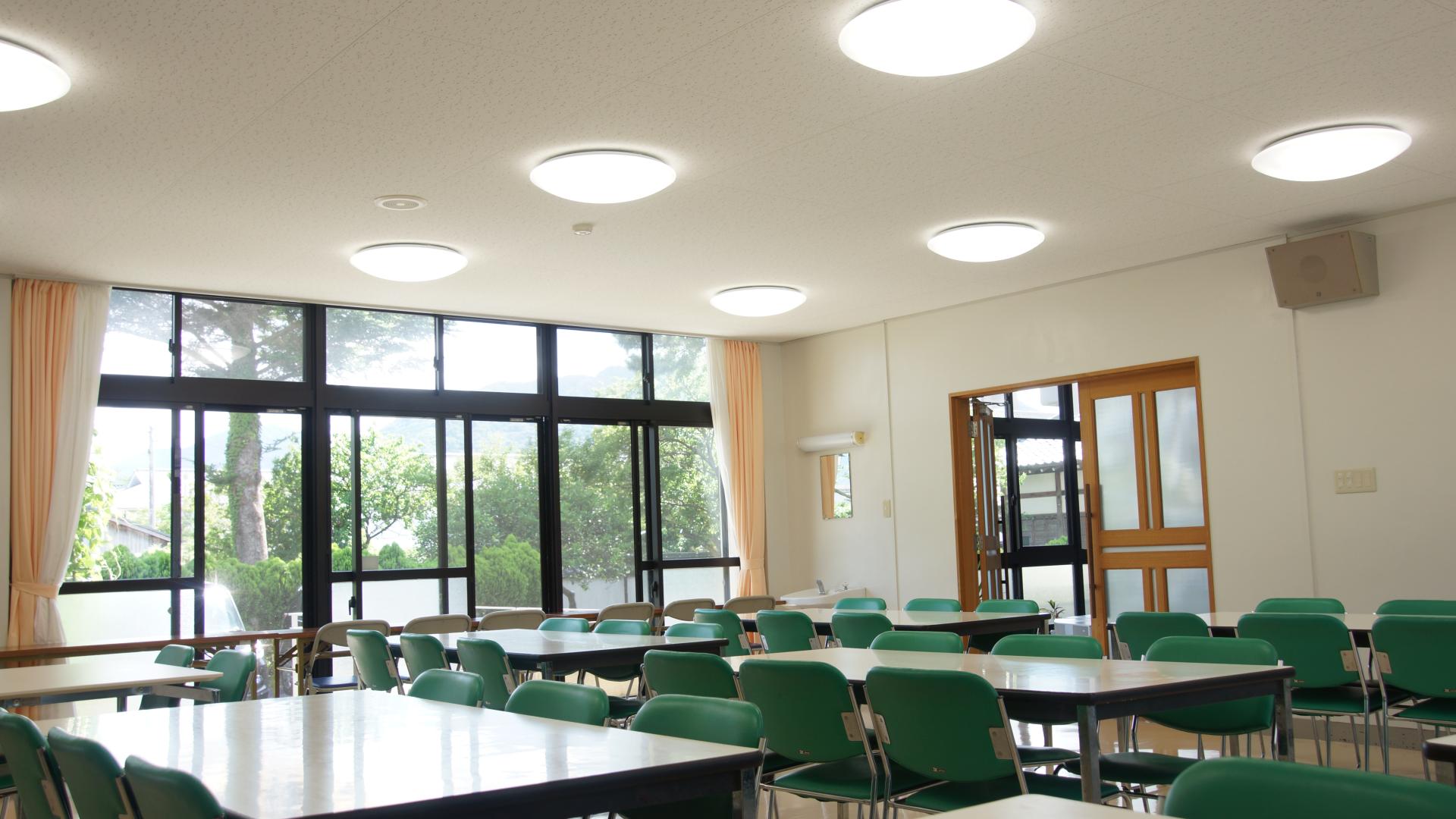 萩セミナーハウス | 食堂