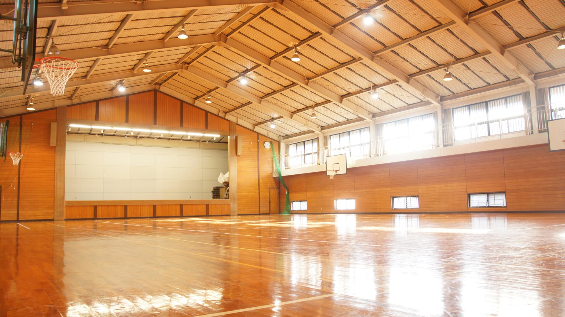 萩セミナーハウス | 体育館